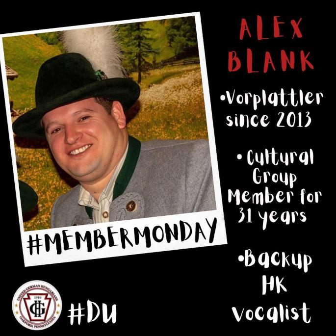 Member Monday - Alex Blank