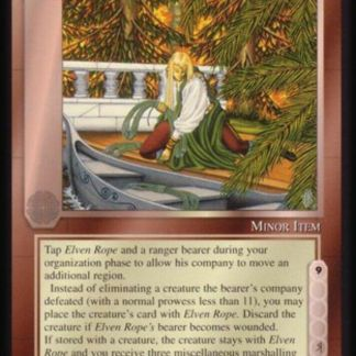 ugi games meccg the balrog elven rope ICE Tolkien card