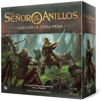 ugi games fantasy flight games señor anillos viaje tierra media juego mesa aventuras