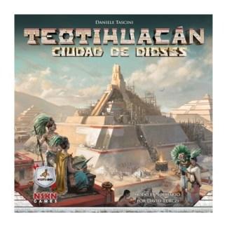 ugi games toys maldito teotihuacan ciudad dioses juego mesa estrategia español