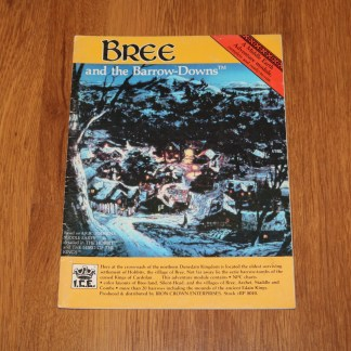 ugi games toys ice iron crown merp middle earth rpg book supplement bree 8010