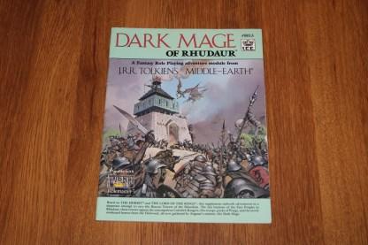 ugi games toys ice iron crown merp middle earth rpg book supplement dark mage of rhudaur 8013