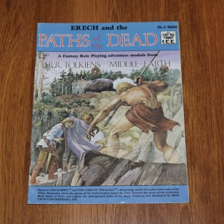 ugi games toys ice iron crown merp middle earth rpg book supplement paths of the dead 8060