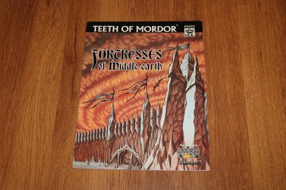 ugi games toys ice iron crown merp middle earth rpg book supplement teeth of mordor 8202
