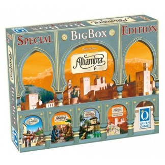 ugi games toys queen games alhambra big box english strategy board