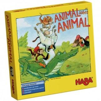 ugi games toys haba animal sobre animal juego mesa infantil español