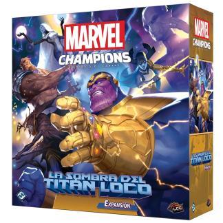 ugi games toys fantasy flight marvel champions juego mesa cartas español expansion la sombra del titan loco