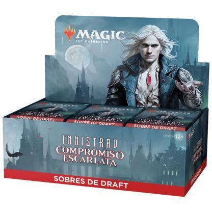 ugi games toys wizards coast mtg magic juego cartas español caja sobres draft innistrad compromiso escarlata