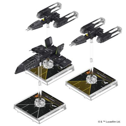 ugi games toys fantasy flight star wars x wing juego miniaturas español expansion tricaza droide chasseur