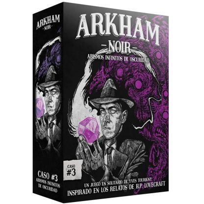 ugi games toys ludonova arkham noir 3 abismos infinitos oscuridad juego cartas español