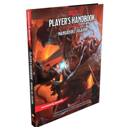 ugi games toys devir dungeons dragons manual jugador libro juego rol español