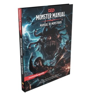 ugi games toys devir dungeons dragons manual monstruos libro juego rol español
