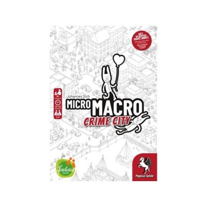 ugi games toys pegasus spiele micromacro crime city english board game