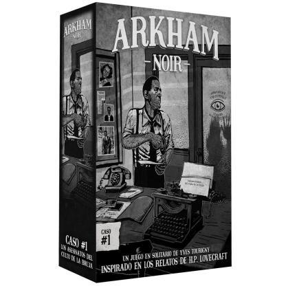 ugi games toys ludonova arkham noir 3 asesinatos culto bruja juego cartas español