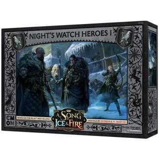 ugi games toys cmon limited cancion hielo fuego juego miniaturas song fire ice night watch heroes guardia noche