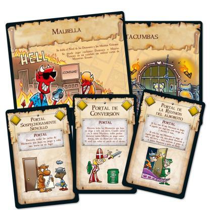 ugi games toys edge entertainment munchkin 6.5 tumbas terrorificas juego mesa cartas fiesta español