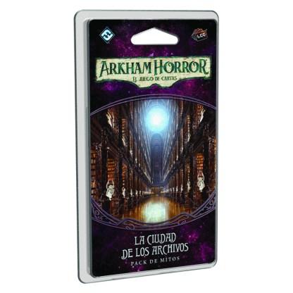 ugi games toys fantasy flight arkham horror lcg juego cartas español pack ciudad archivos