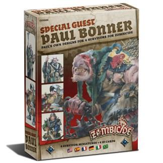 ugi games toys cmon limited zombicide black plague special guest paul bonner miniatures