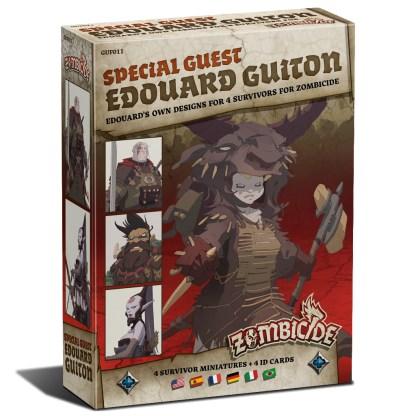 ugi games toys cmon limited zombicide black plague special guest edouard guiton miniatures