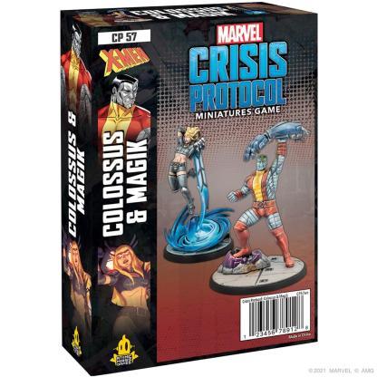 ugi games toys atomic mass marvel crisis protocol english miniature expansion colossus magik