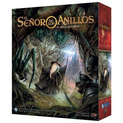 ugi games toys fantasy flight señor anillos lcg juego cartas español caja basica edicion revisada