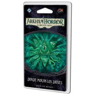 ugi games toys fantasy flight arkham horror lcg juego cartas español pack mitos devoradores sueños donde moran los dioses
