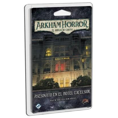 ugi games toys fantasy flight arkham horror lcg juego cartas español pack escenario asesinato hotel excelsior