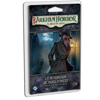ugi games toys fantasy flight arkham horror lcg juego cartas español pack escenario intromision miaulathotep barkham