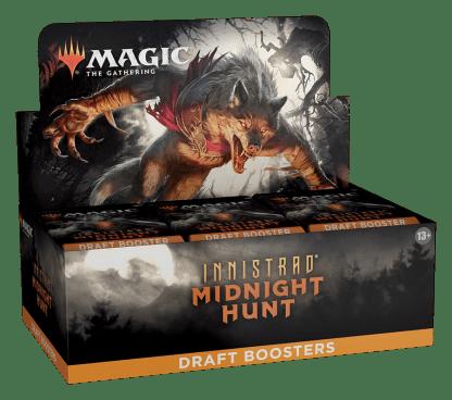 ugi games toys wizards coast mtg magic english card game innistrad midinight hunt draft boosters display