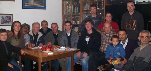 Predstavnici Mladeži HSPa podružnice SB sa članovima Udruge