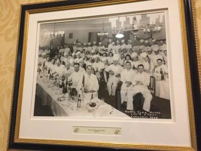 Chef Staff - Christmas 1948