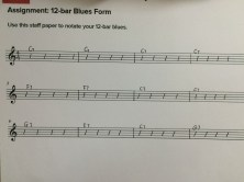 12 bar blues in C