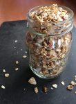 a jar full of granola