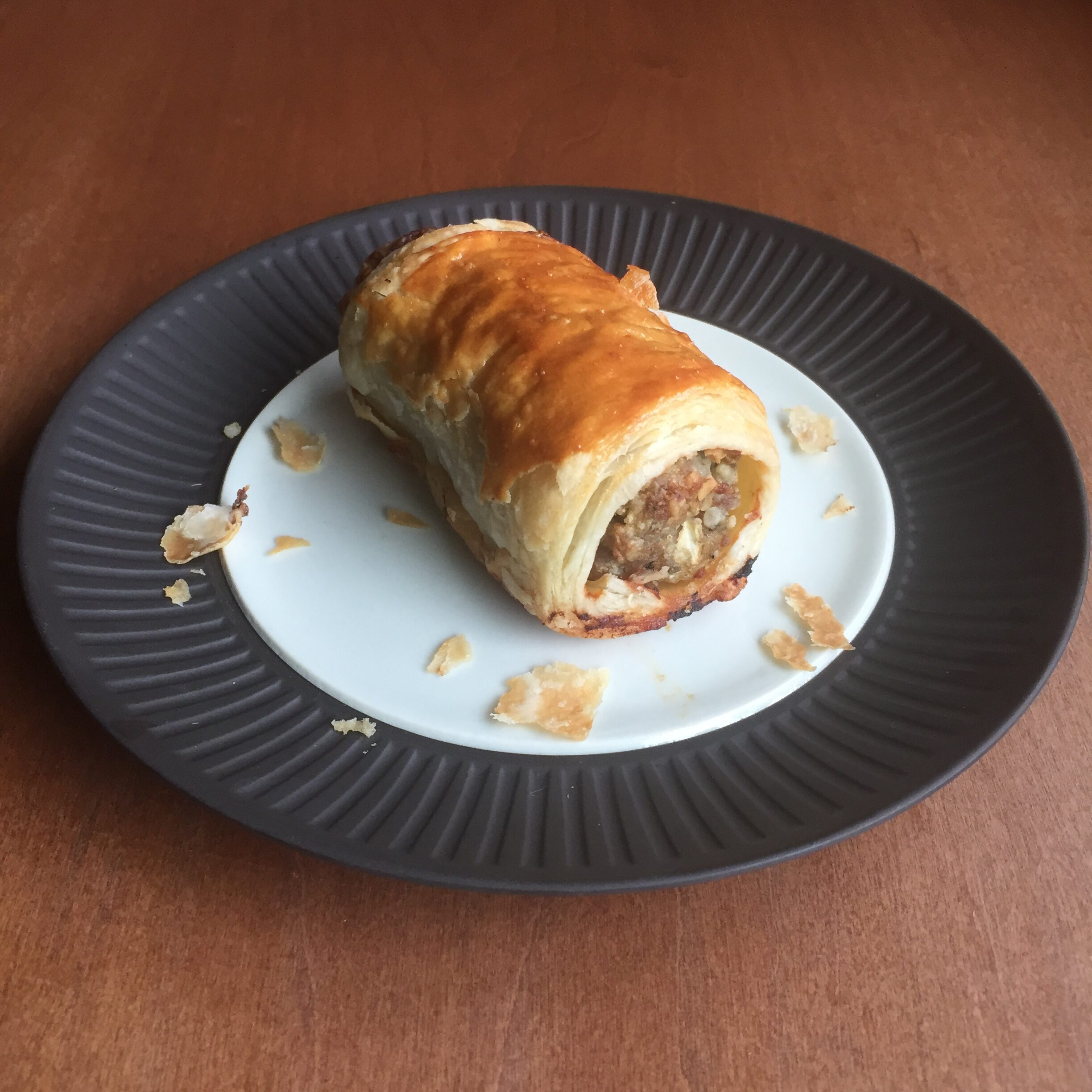 Macadamia nut sausage roll recipe with puff pastry: reddit baking challenge (wk 4)