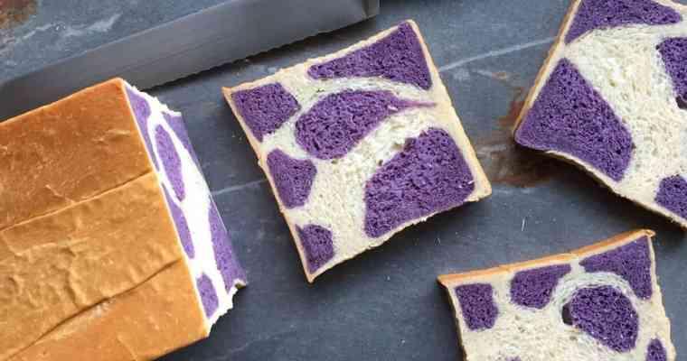 A Purple Cow Milk Bread Recipe