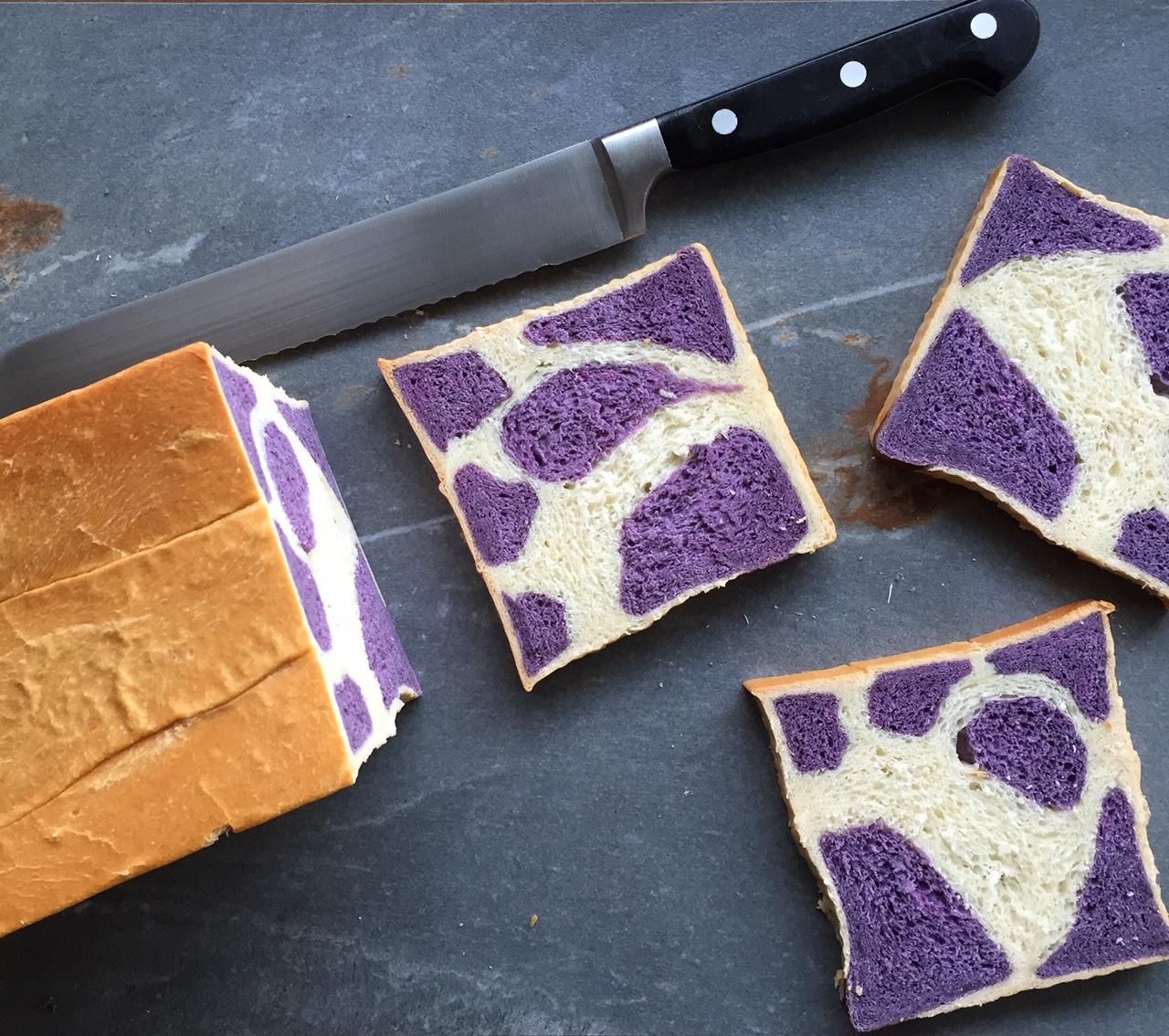 (I never saw) a purple cow bread: reddit 52 week baking challenge