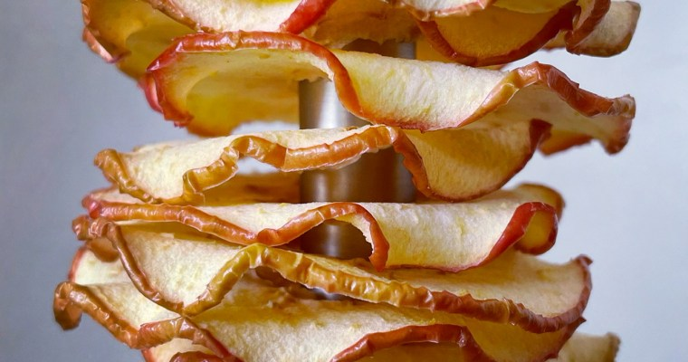 How to make dried apple rings in the oven
