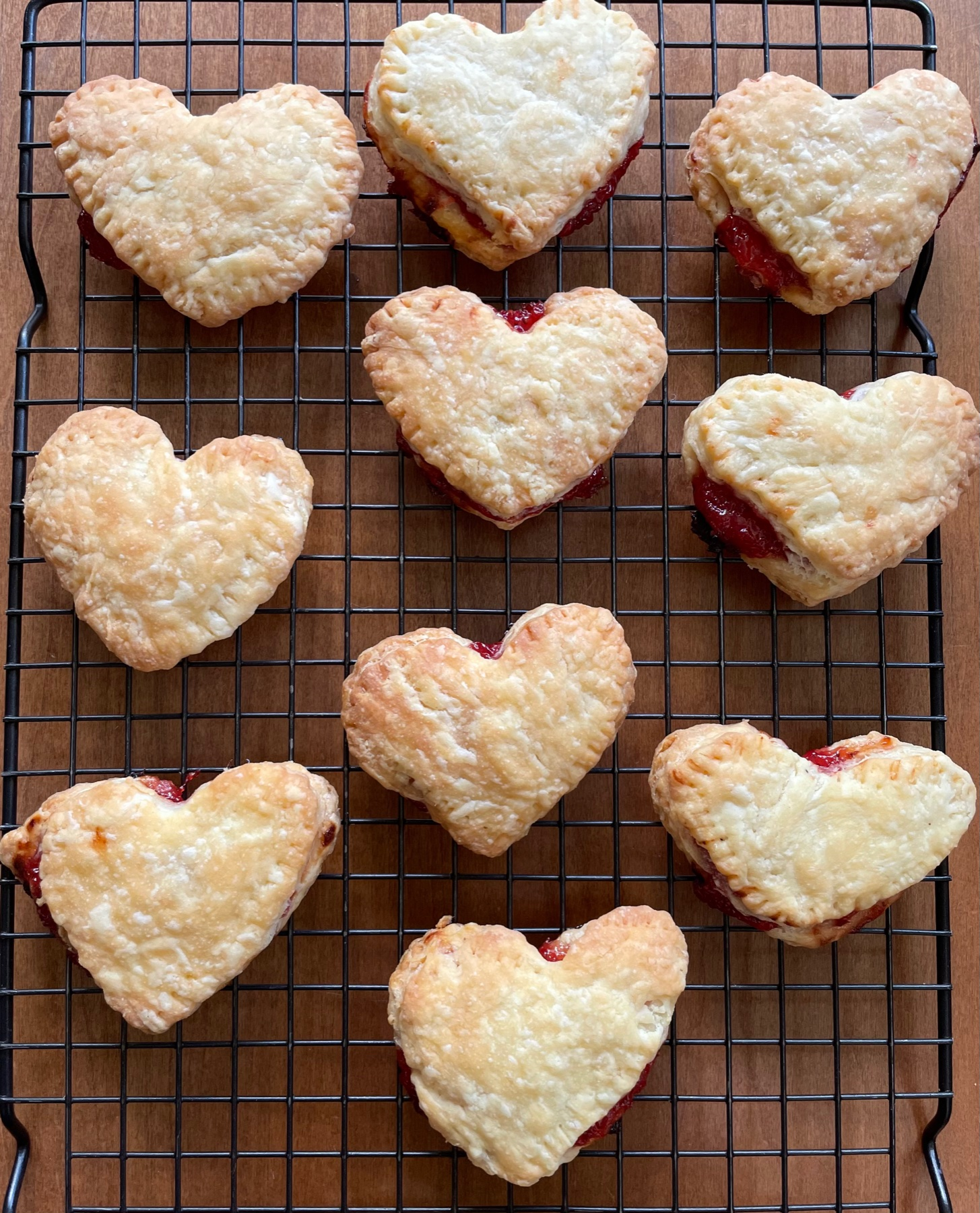Strawberry Heart Pop Tarts: in the Kitchen with Kiddo