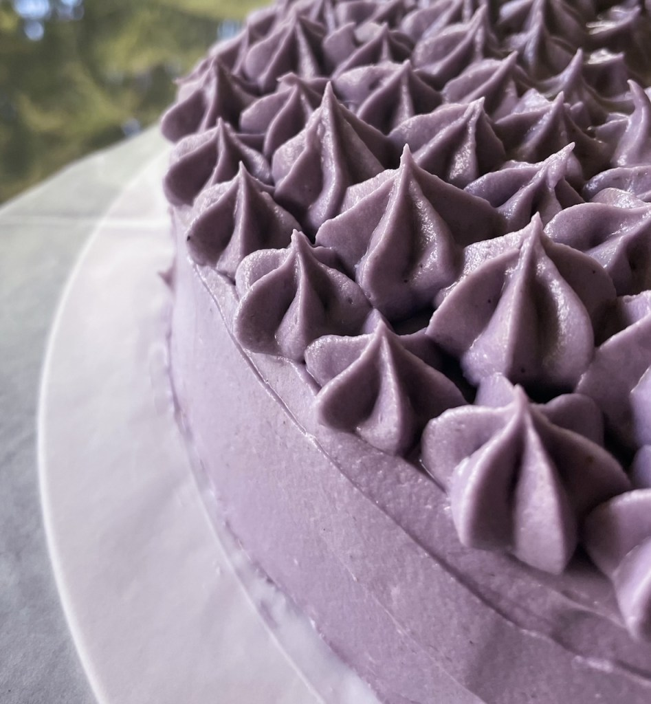 an edge of the earl grey lavender cake