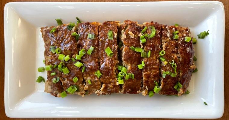 Peking Duck-Inspired Ground Duck Meatloaf