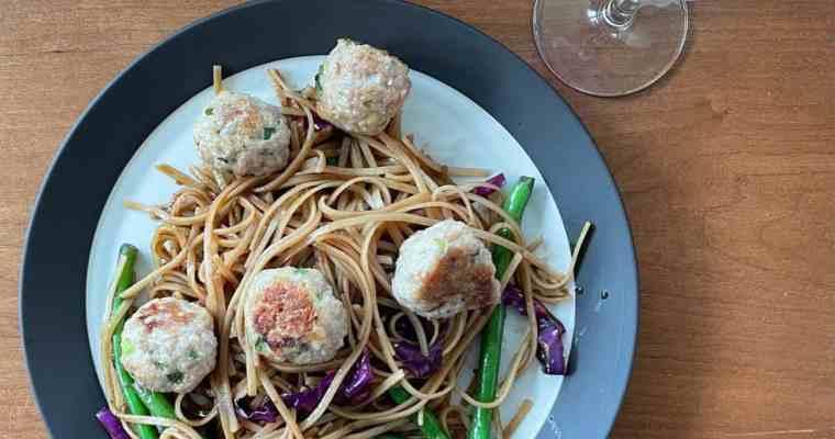 A Minced Pork Recipe: Shrimp and Pork Meatballs