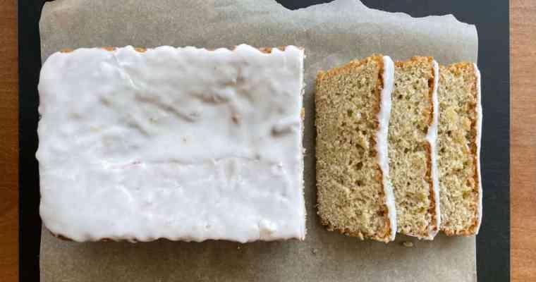 Juniper Lime Drizzle Cake (aka Why Did My Cake Fall?)