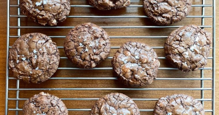 Salted Caramel Chip Chocolate Cookies