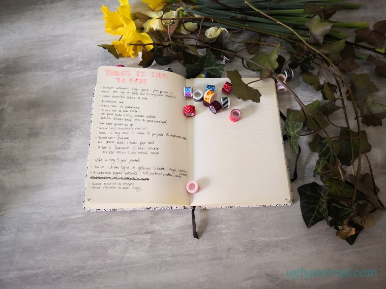 10 must have pages for your bullet journal 5 - uglyjournal.com