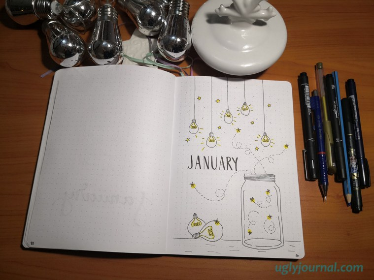 January cover page