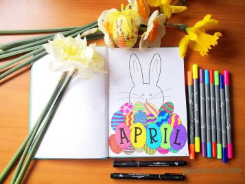 April Bullet journal theme ideas