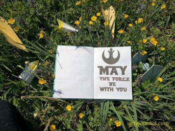 May Bullet journal Star Wars