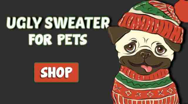 ugly sweaters for pets