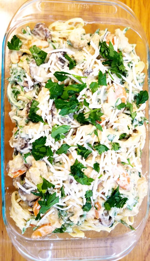 Vegan Veggie Tetrazzini Recipe