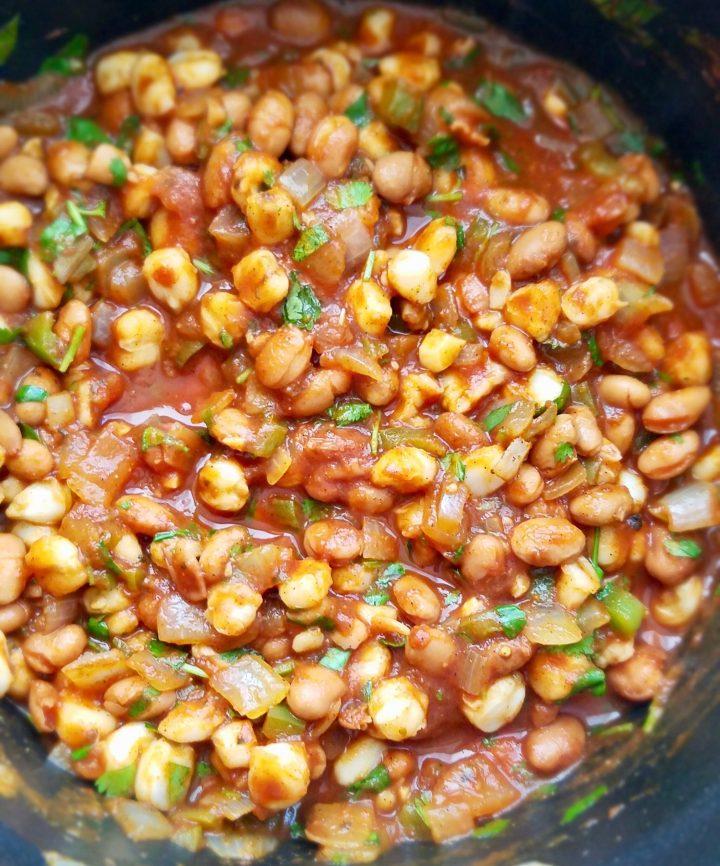 Vegan Recipes with Hominy